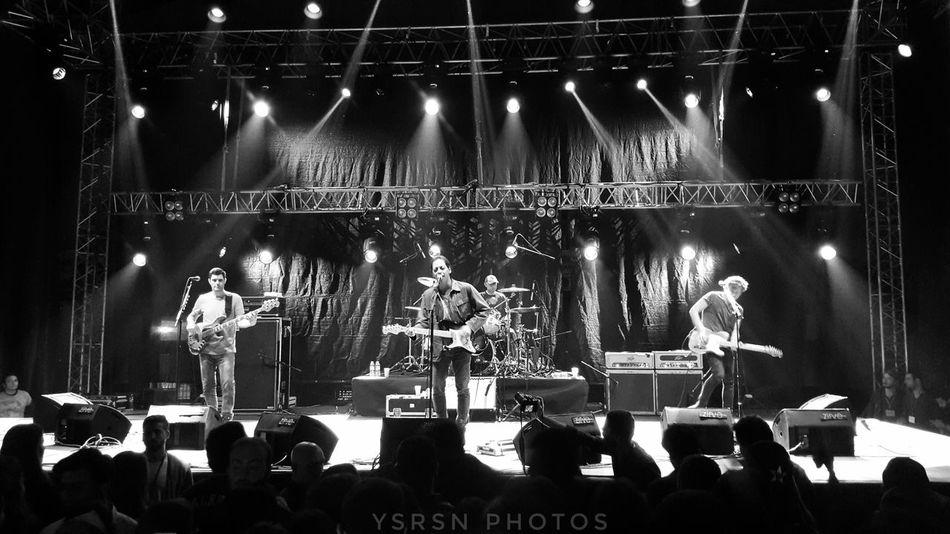 Skill  Afyon /Turkey Rock Concert Konser Dumankonser Duman Dumanist Afyonkarahisar Afyon Kocatepe Üniversitesi Performing Arts Event Musical Instrument Musician Stage Light Electric Guitar Guitar Popular Music Concert