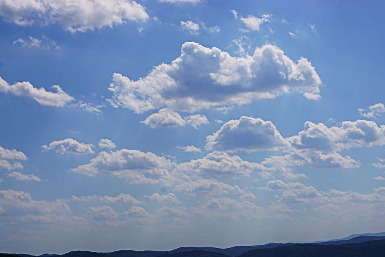 Sky Beauty In Nature Cloud - Sky Stone Mountain State Park No People Outdoors Blue