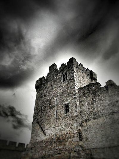 Ross Castle keep Killarney  Ireland Overcast Cloud - Sky Dramatic Sky Architecture Castle Ross Castle Outdoors Ominous Irish Castle Lough Leane