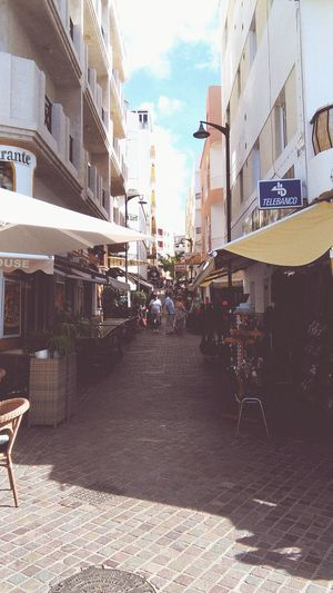Day Sky Outdoors City Spain🇪🇸 Tenerife Sur Tenerife, Adeje Los Cristianos, Canarias Market Restaurants Holiday Hot Day Sun Beach