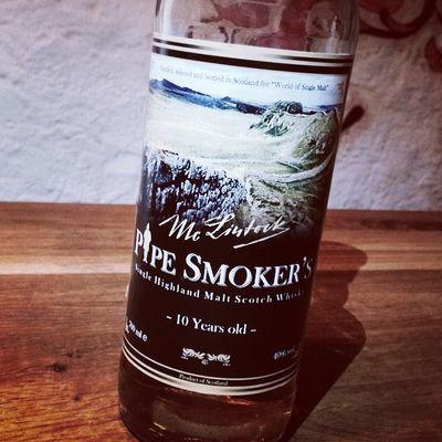 Nr. 5: Pipe Smoker's 10 Jahre von Mc Lintock / World of Single Malt... #whiskySBH #tasteup Singlemalt Tasteup Whiskysbh Whisky 10jahre Scotch Whiskyporn Highlands Worldofsinglemalt Malt Mclintock Slàinte Pipesmokers Immendingen Brennerhof Tuttlingen 10years Scottland Schottland
