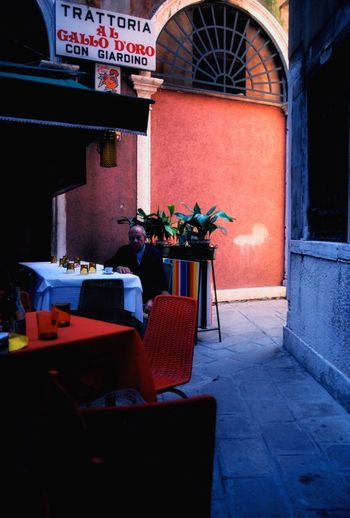 Venezia1979 Venezia Italia Chair Potted Plant Table Architecture No People Day Built Structure Flower Indoors