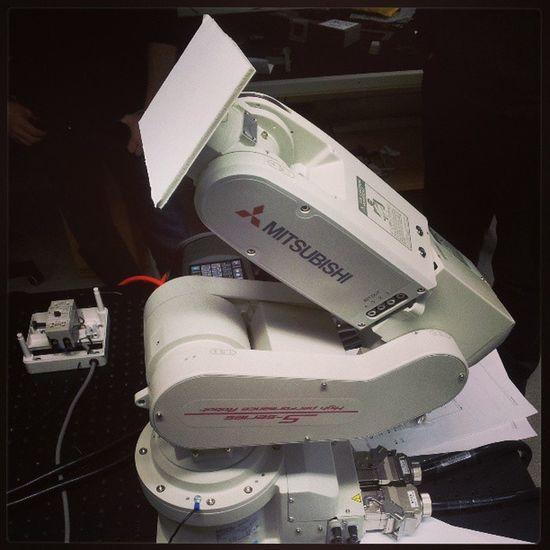 Robot arm for measurement Örnsköldsvik
