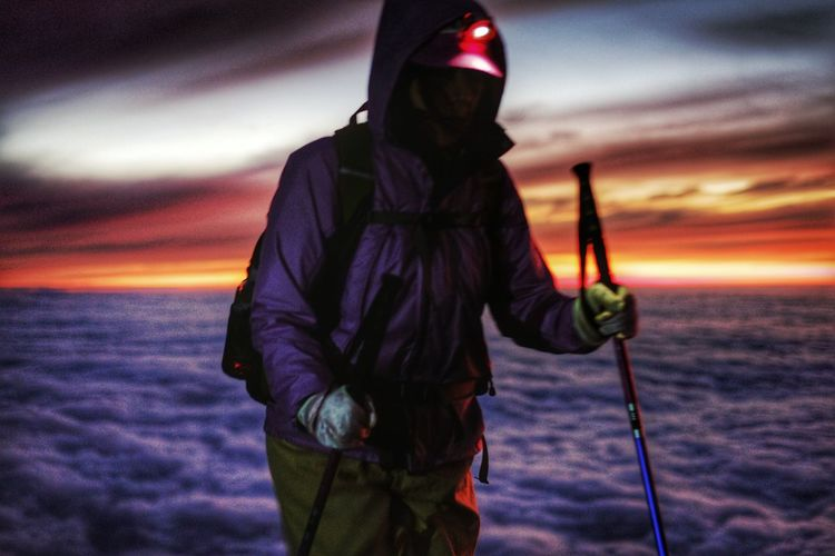 Adventure Club Mtfujisan Mtfuji Mysteryclimber THE SUMMIT Sunrise Japan It's About The Journey