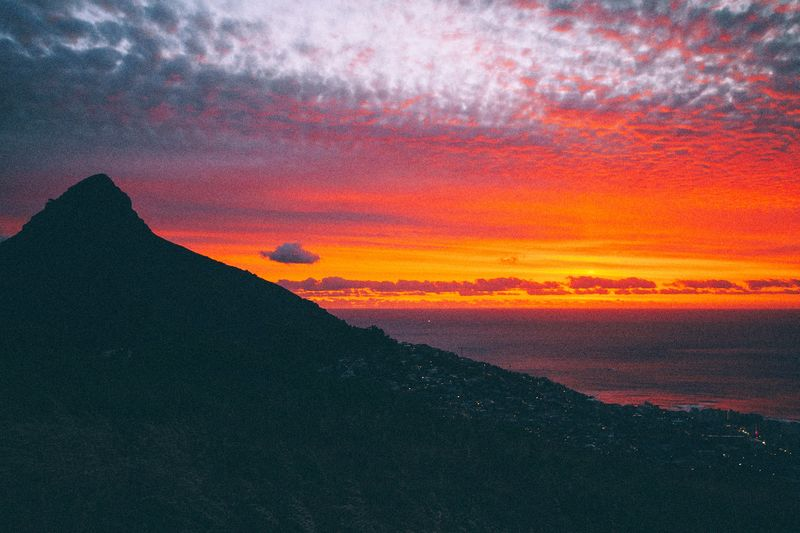 this sunset was mad. Capetown Southafrica Showcase: January EyeEm Best Shots EyeEmBestPics EyeEm Gallery Canonphotography Canon Sunset Clouds And Sky Clouds Moutains Sea And Sky Fire Eye4photography  EyeEm Nature Lover EyeEm Eyemphotography EyeEmbestshots