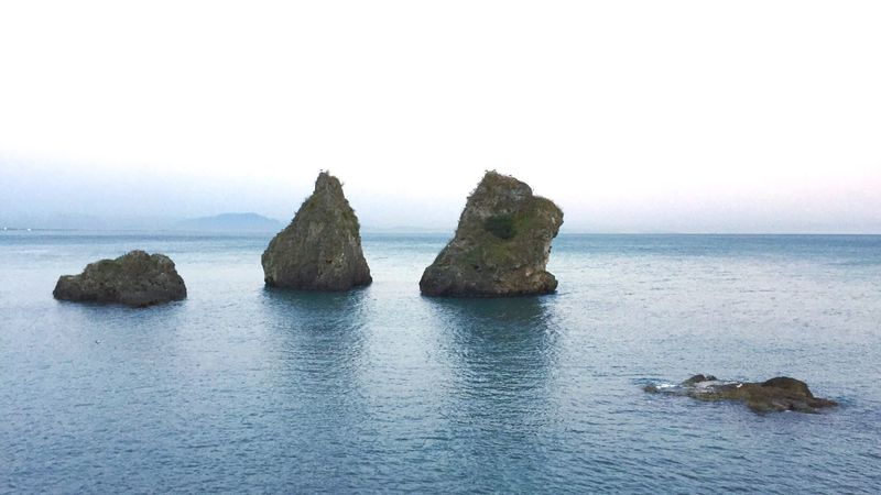 """Italy Italia Italy❤️ Costiera Amalfitana Amalfi Coast Vietrisulmare Vietri Sul Mare Sea And Sky Seascape Scogli i """"Due Fratelli"""" di Vietri sul Mare"""