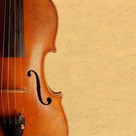 Background Backgrounds Close-up Copy Space Cropped Detail Fiddle Geige Instrument Music Old Paper Part Of Retro String Instrument Textured  Vintage Violin Violine