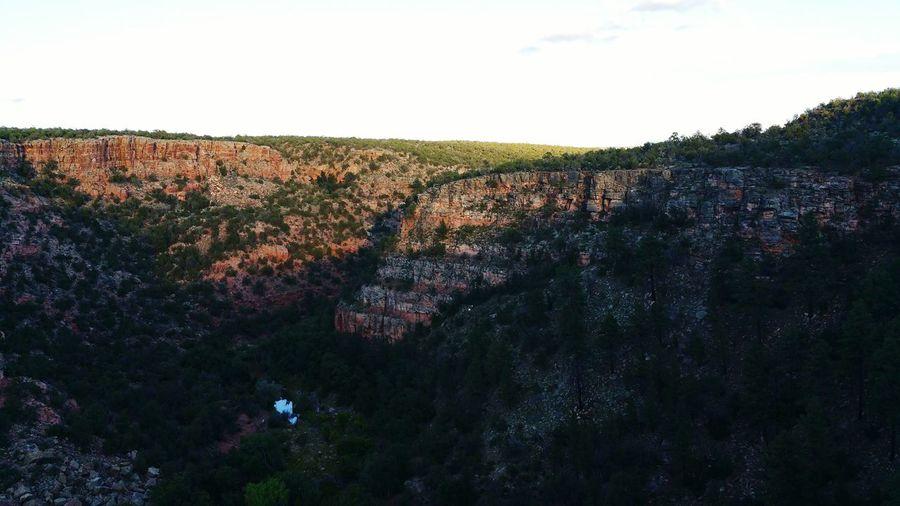 Canyon Nature Evening Canyonwalls