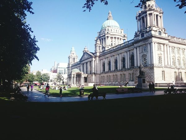 Belfastcity Northern Ireland Belfast City Hall Discover Your City Historical Building Architecture Architecture_collection