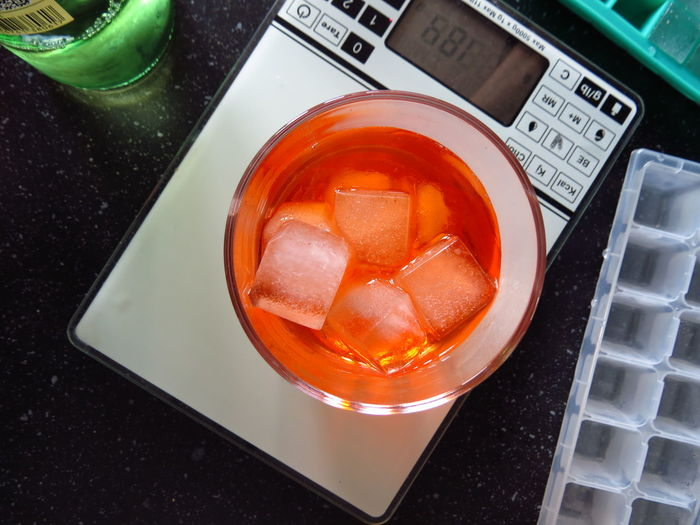 Alcohol Alcoholic Drink Aperol Spritz Beverage Cocktail Cocktails Cold Drink Drink Drinking Drinking Glass Drinks Food And Drink Freshness Glass High Angle View Ice Ice Cube Tray Ice Cubes Ice Cubes In My Drink Icecubes Mixing Mixing Cocktail Mixing Drinks Mixology Tray