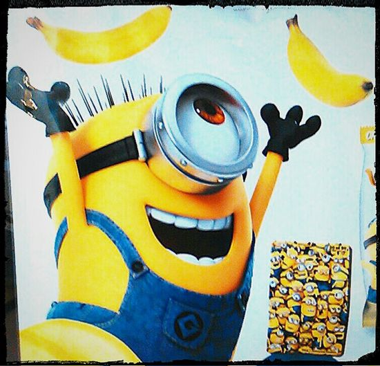 Despicable Me Minions Minions Characters Minions ™ Illumination Entertainment The Minions :) Stuart Banana Flavour Minions ♥♥ Banana Powered By Bananas Minions_mania Minions 🍌🍌🍌🍌🍌 Minion  Minionsworld Bananas