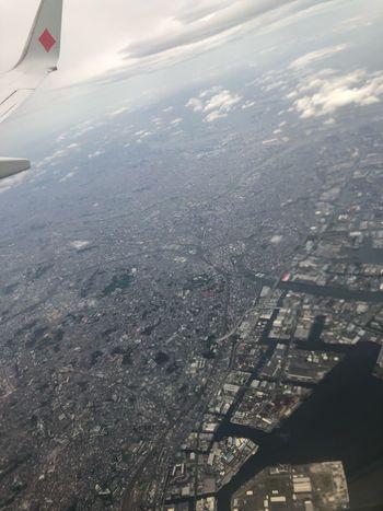 今日も早い到着*\(^o^)/* 安全運航ありがとうございました。#スカイマーク #SKYMARK Skymark Airlines Skymark Airplane Air Vehicle Transportation Flying Mode Of Transportation Aerial View Travel