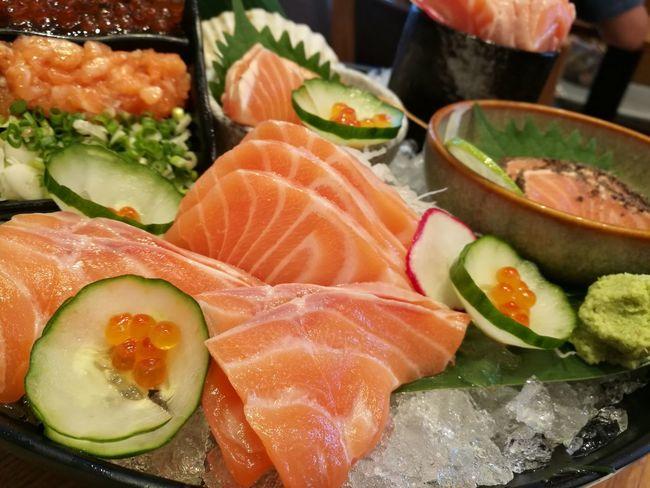 Salmon Sashimi Salmon Sushi SalmonLove Salmon Rolls Salmonsushi Salmon Eggs Salmonsashimi Japanese Food