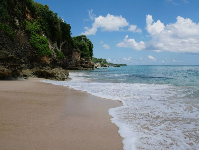 balinean beaches are wonderfull No People Bali INDONESIA Tree Water Sea Wave Beach Beauty Blue Sand Arrival Seascape Lagoon Coast Turquoise Colored Reef Soft Coral