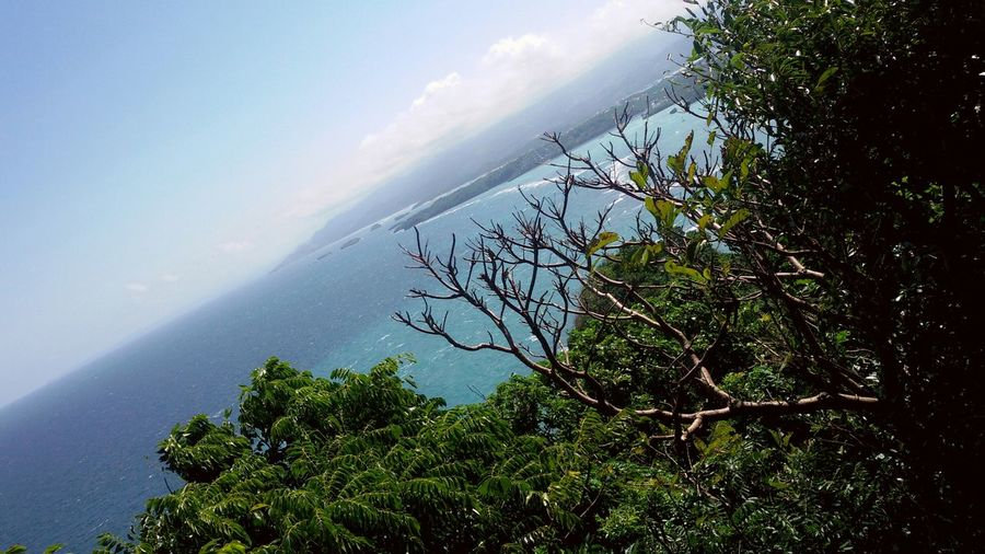 View of Boracay Island from Mt.Luho