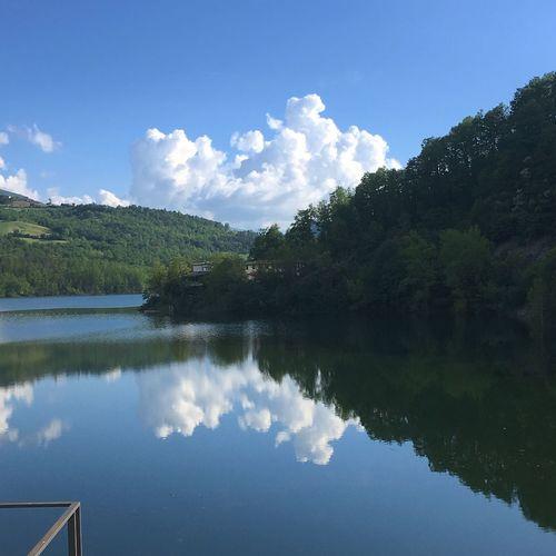 Hills Diga Del Molato Valtidone Mirror