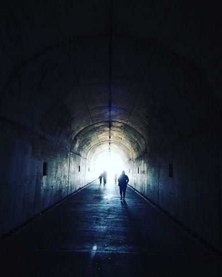 Lost In San Francisco Tunnel Arch Walking San Francisco Dark Lightattheendofthetunnel Lightanddarkness