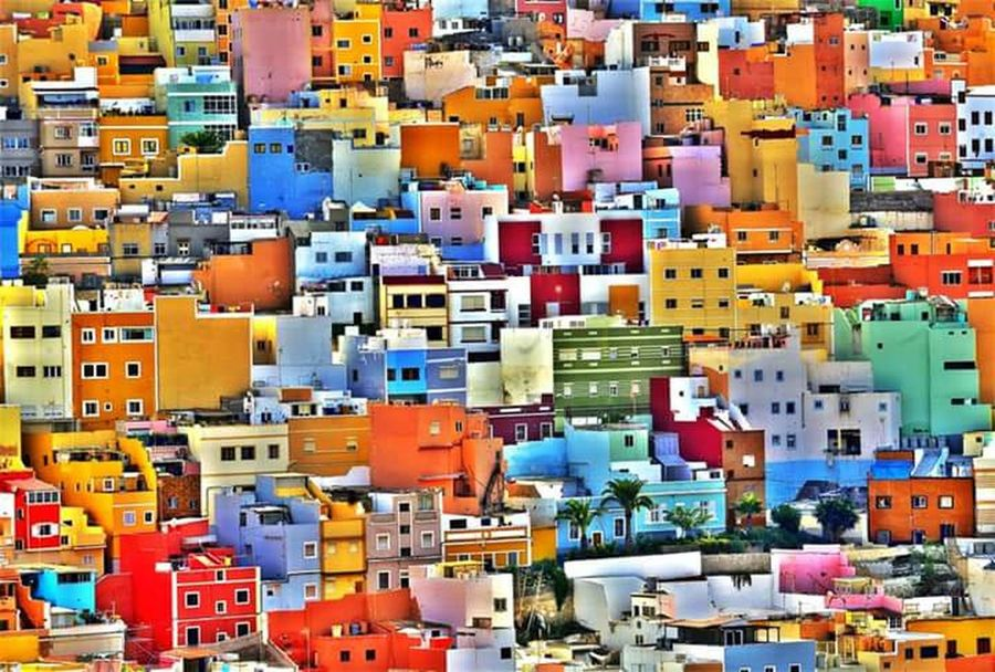 Colour Of Life Painted Houses