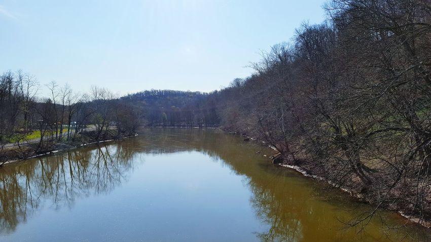 WPT WPT View Landscape Beautiful View Spring Biking Rail Trail Trail Pennsylvania Outdoors Water River Bridge Bridge View