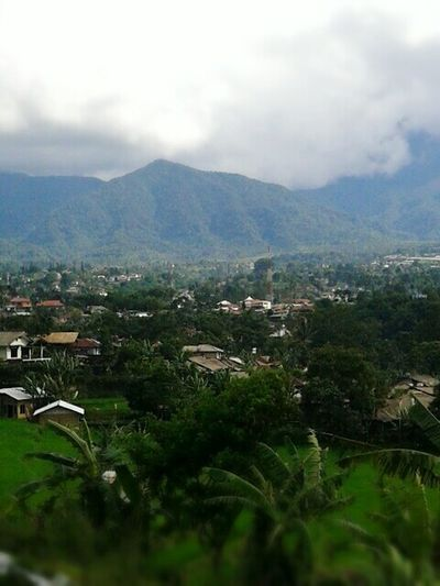 Indonesia Scenery INDONESIA West Java,Indonesia Sukabumi Explore Explore Indonesia Village View Pangrango Mountain Gunung Gede Pangrango Mountains And Sky Traveling Green Nature Villagescape Village Under Mountain Mount Pangrango