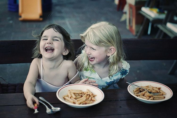 Sharing a joke - priceless Film 35mm Film Film Is Not Dead Film Photography Emotions Emotion Laughing Laughter Kids Playing Kids Being Kids Best Friends Joy Of Life Joyful Moments Friendship Friends BYOPaper!