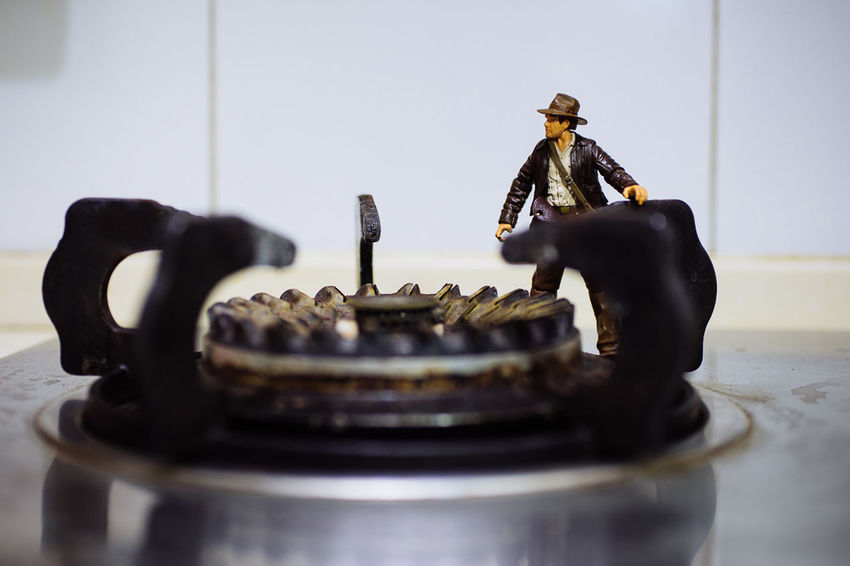 """Dr. Henry """"Indiana"""" Jones, Jr. Hello World Hi! Relaxing Enjoying Life Colorful Light And Shadow China Toys Chinese"""