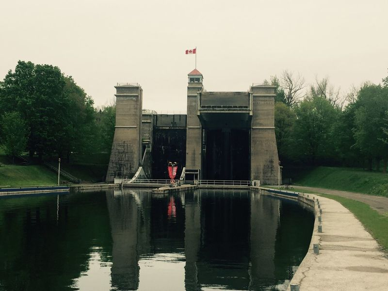 The Architect - 2017 EyeEm Awards Built Structure Architecture Outdoors Water IPhoneography Peterborough Lift Lock Canal Canada May 24, 2017