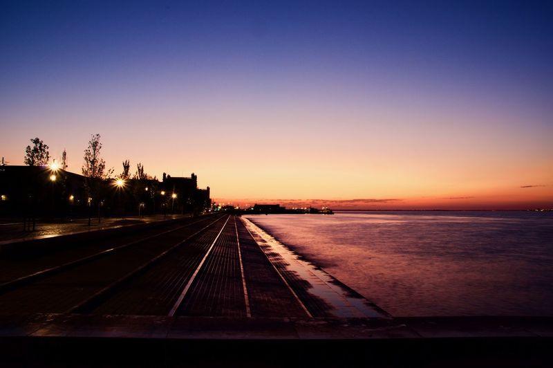 dawn from sea
