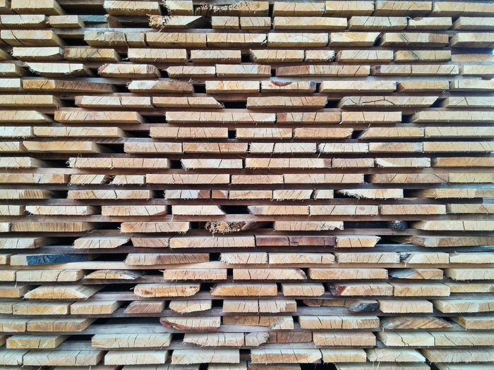 Wood stack...