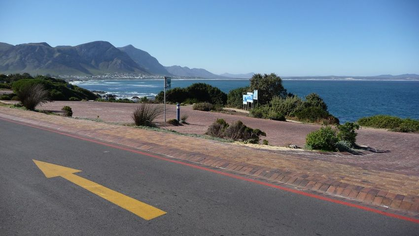 This Way in Hermanus South Africa - Arrow Arrow Symbol Western Cape No Edit/no Filter Street Road Roadtrip Africa Ocean View Ocean Seascape Sea And Sky Seaside