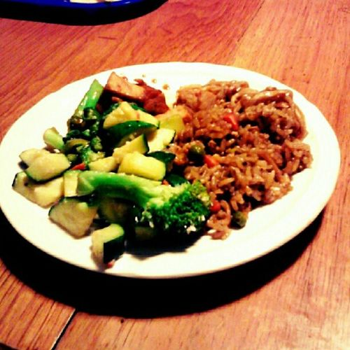 #japanesefood for #dinner! #foodie #yummy #lowfat #lowcalorie #diet #weightloss #eatright #eatclean #eatingclean #eatingright #caloriecounting #countingcalories #foodstagram Eatingright Eatingclean Yummy Caloriecounting Dinner Countingcalories Foodie Vegetables Diet Weightloss Rice Veggies Japanesefood Foodstagram Eatclean Lowfat Lowcalorie Eatright