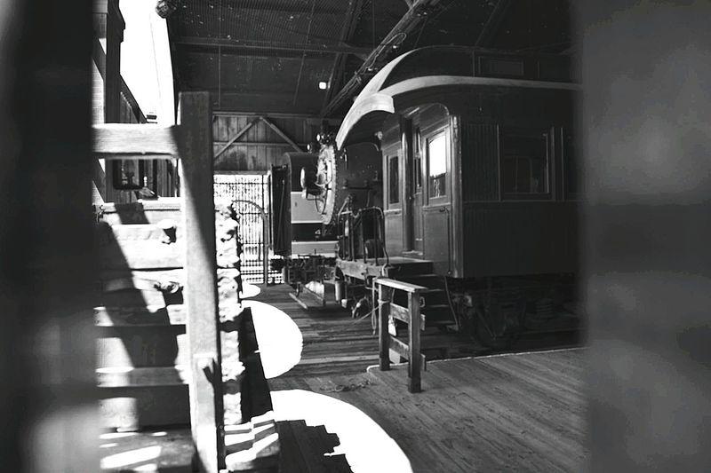 Oldsacramento Sacramento California Train Train Station Wood - Material Architecture No People Oldtrain Blackandwhite