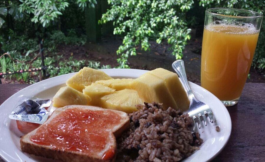 Breakfast in Costa Rica! The Breakfast Club