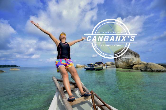 life is free Belitung Island Belitung Canganxproduction Beach Nikon Batubelayar Granitebeach Islandhopping Happy Blue Sky Landscape_photography Enjoying Life