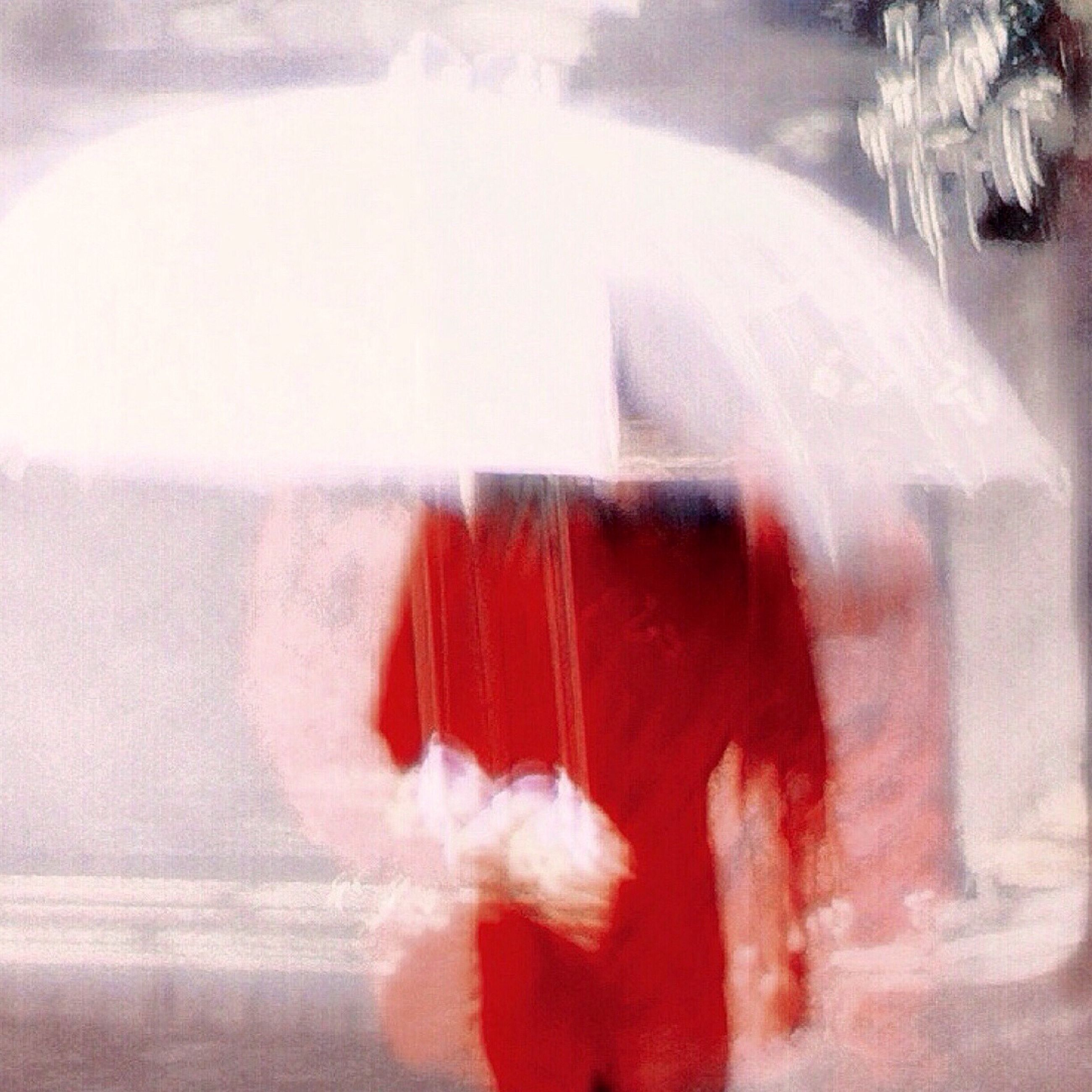 indoors, glass - material, blurred motion, reflection, transparent, lifestyles, motion, red, close-up, window, leisure activity, men, holding, person, rear view, side view, transportation, focus on foreground