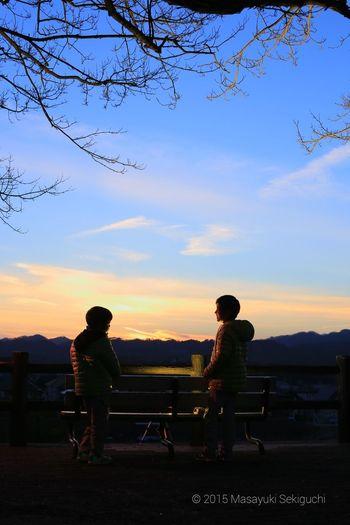 名取 ストロボ 十三塚公園 Portrait キッズ Sunset 夕陽 Sunset #sun #clouds #skylovers #sky #nature #beautifulinnature #naturalbeauty #photography #landscape