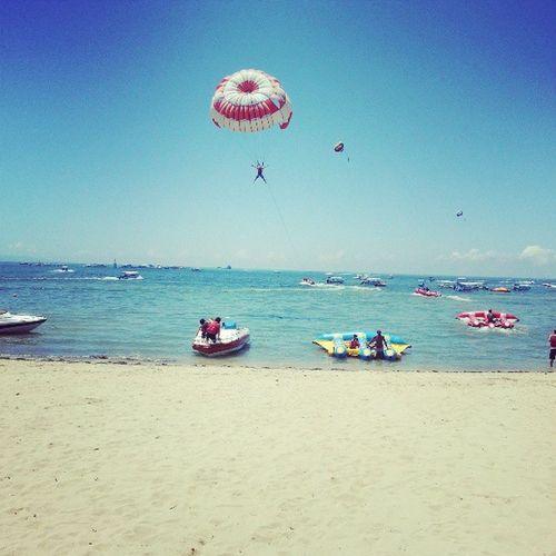 Far far away! Parachute