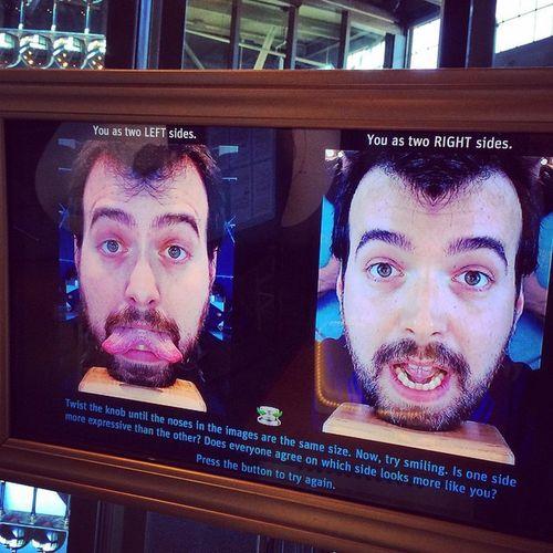 USA Sanfrancisco Exploratorium Faccestrane