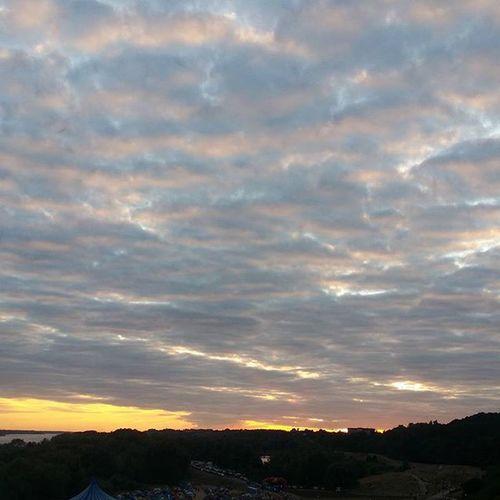 Niebio Sky Clouds Chmury Poland Plock Reggaeland