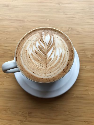 Latte Latte Art Latte Art Lover Cofffee Cappuccino Coffee Cup Coffee - Drink Table Food And Drink Frothy Drink Cappuccino Froth Art Drink Refreshment Still Life Creativity Indoors  Latte Freshness High Angle View No People Food Directly Above Close-up EyeEmNewHere