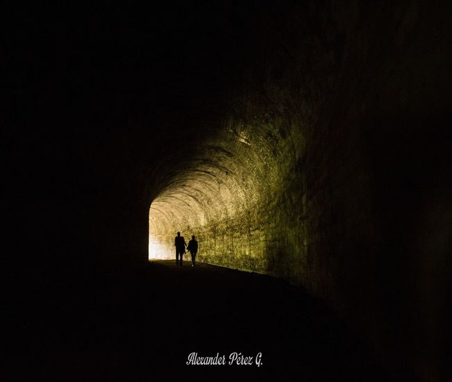 Night Silhouette People Standing Adult Adults Only One Person Only Women Outdoors Lovely Beauty In Nature Loveforever Tunel Tunel Time