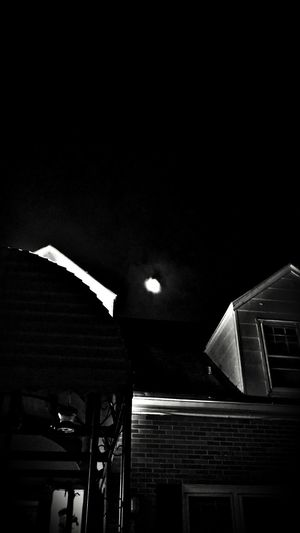 Night Built Structure Illuminated Architecture Low Angle View Building Exterior Old Buildings Old Building  Old House Old Architecture Old Building  Window Window Frame Sky Nightshot Nightsky Night Sky Haunting  Haunting  Hauntingly Beautiful Hauntinglybeautiful Blackandwhite Black And White Black & White Blackandwhite Photography