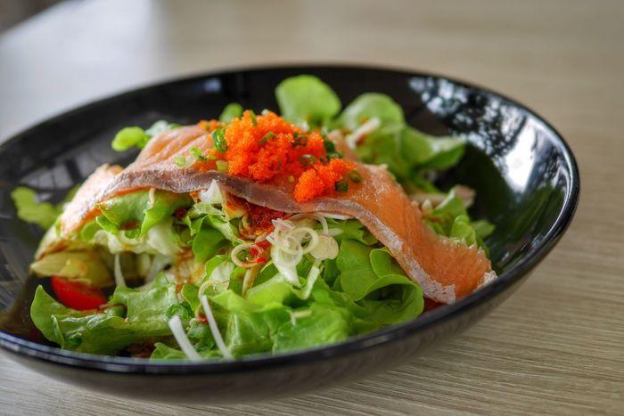 Salad SalmonLove Healthy Healthy Eating Healthy Food Healthy Lifestyle Good Eats Good Food