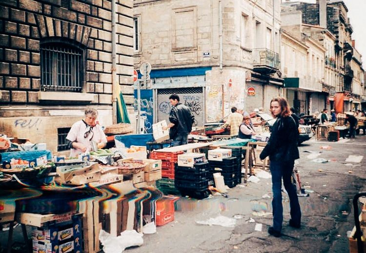 TBT  Throwbackthursday  Me at the Fleamarket in Bordeaux 1998 People Outdoors Streetphotography Streetphoto_color Streetscene Those Were The Days Good Old Times Travel Destinations Building Exterior Streetphotography Colors Urban Lifestyle That's Me Hello World Me Myself And I Vive La France Film Is Not Dead Film Photography Filmphotography