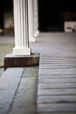 Architectural Column Architecture Close-up Column Day No People Outdoors Western Wood Planks