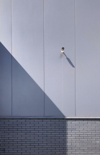 Architecture Wall - Building Feature Built Structure Building Exterior Security Camera Day Pattern City Technology Sunlight Shadow Safety No People Concrete Wall Outdoors Sunny Surveillance
