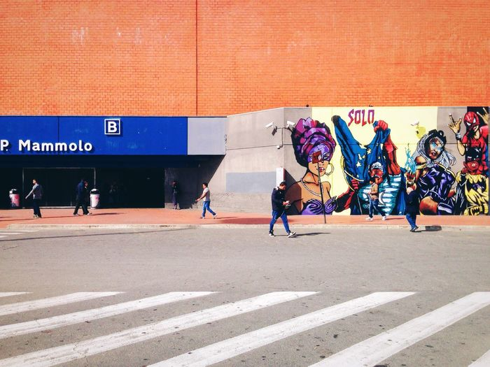 P. Mammolo // Priime Priimephoto IPhoneography Iphoneonly Iphonesia Streetart StreetArtEverywhere Streetart/graffiti Mural Art Superheroes