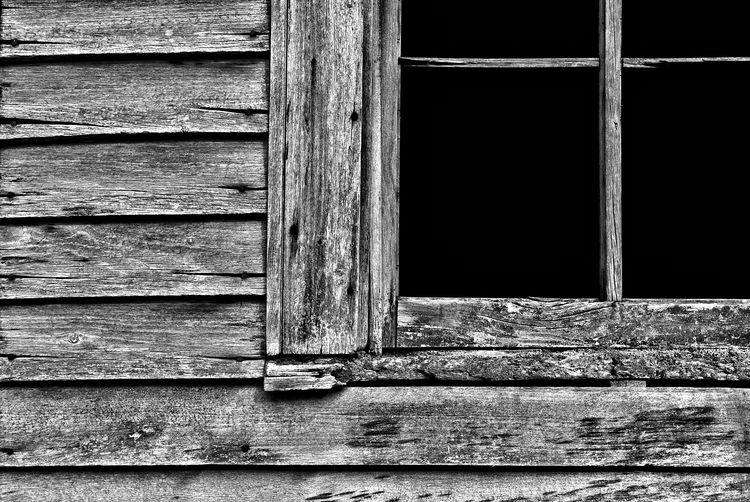 Full frame shot of weathered window