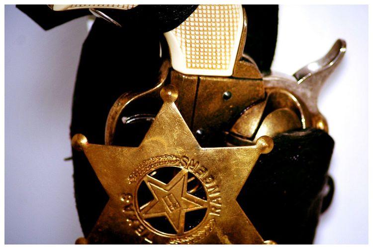 Texas Rangers Gun Peace Maker Sheriff