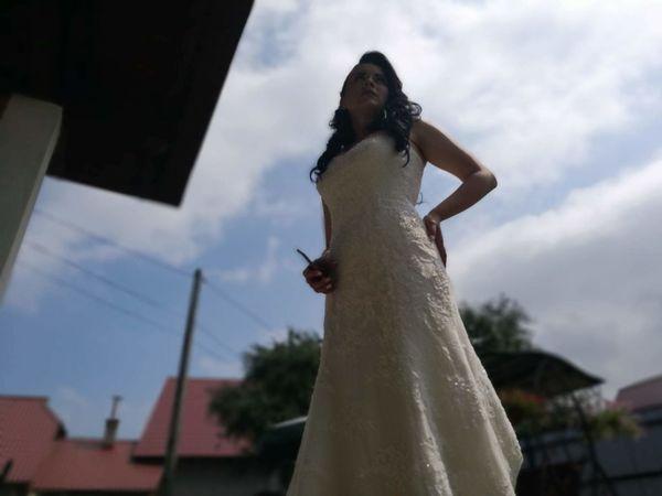 Wedding Bride Wedding Dress Sky Cloud - Sky